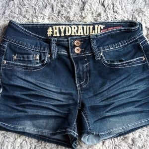 👛hydraulic Denim shorts size 5/6